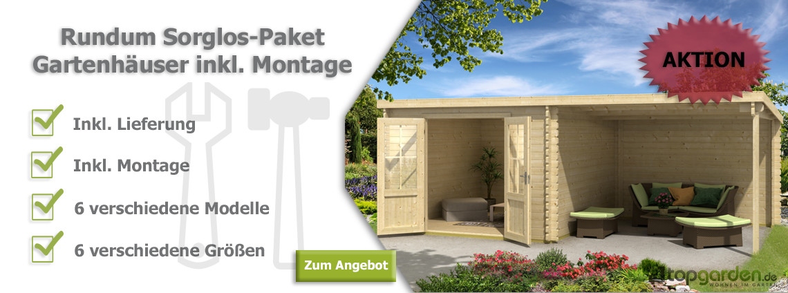 gartenhaus holz mit montage my blog. Black Bedroom Furniture Sets. Home Design Ideas